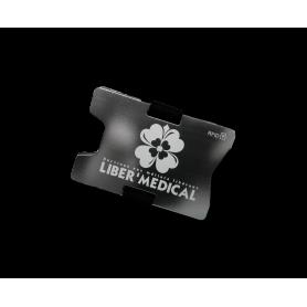 Porte cartes RFID - Liber Medical  - 1