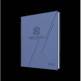 AGENDA SEMAINIER ANNÉE 2021 | JOURNALIER PAR 1/4 HEURE  - 1